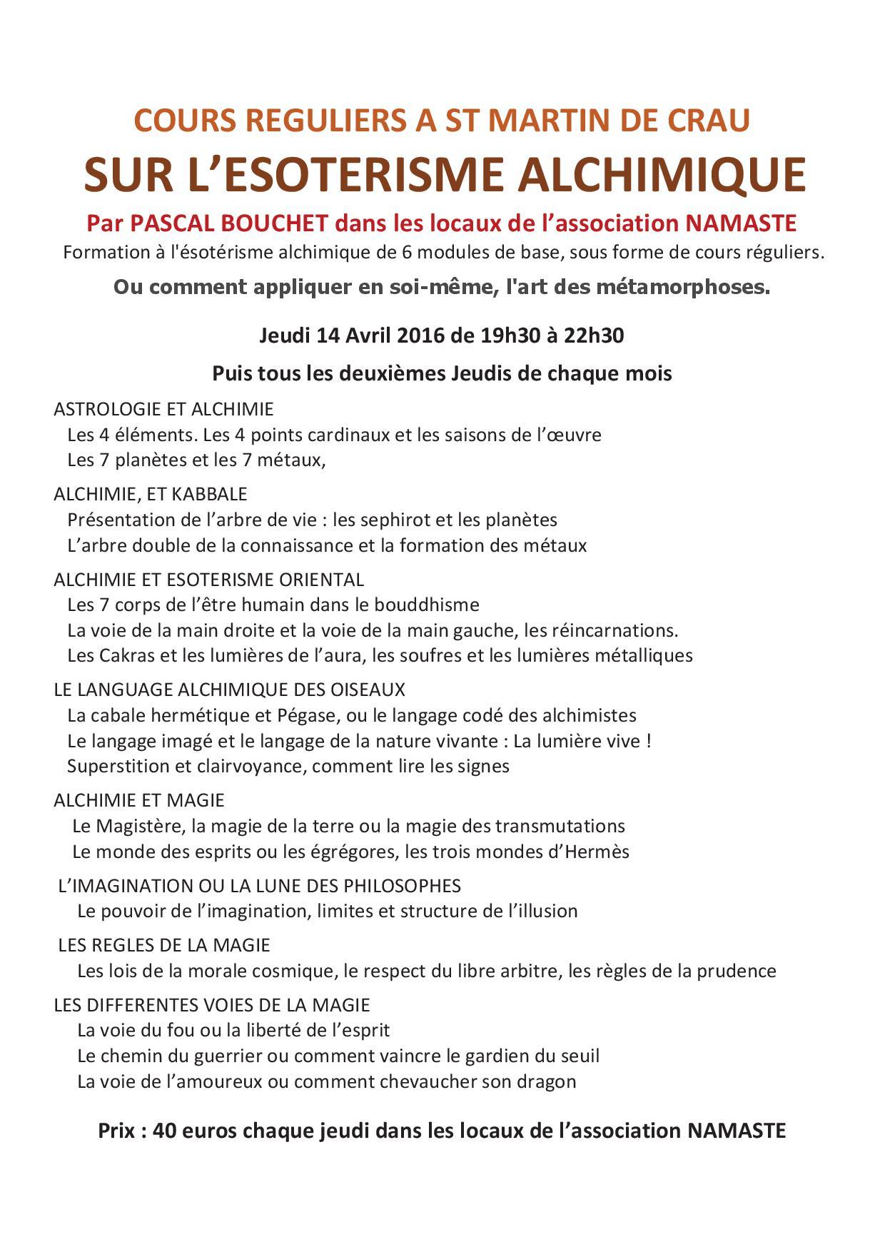 Cours a st martin de crau 14 04 16